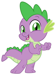 Size: 3072x4096 | Tagged: safe, artist:dashyoshi, spike, dragon, .svg available, looking at you, simple background, solo, transparent background, vector