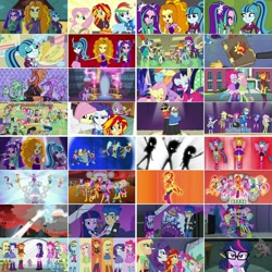 Size: 1080x1080 | Tagged: safe, artist:jericollage70, edit, edited screencap, screencap, adagio dazzle, apple bloom, applejack, aqua blossom, aria blaze, blueberry cake, bon bon, brawly beats, captain planet, cherry crash, curly winds, flash sentry, fluttershy, fuchsia blush, lavender lace, lyra heartstrings, mystery mint, normal norman, octavia melody, paisley, photo finish, pinkie pie, pixel pizazz, rainbow dash, rarity, ringo, rose heart, sandalwood, sci-twi, scootaloo, scott green, scribble dee, snails, snips, some blue guy, sonata dusk, spike, spike the regular dog, sunset shimmer, sweetie belle, sweetie drops, thunderbass, trixie, twilight sparkle, valhallen, violet blurr, wiz kid, alicorn, dog, earth pony, pegasus, pony, siren, unicorn, equestria girls, rainbow rocks, battle of the bands, better than ever, blonde hair, blue hair, book, cute, cutie mark crusaders, dashabetes, diapinkes, eyes closed, gem, group hug, hug, humane five, humane seven, humane six, jackabetes, magic mirror, meta, multicolored hair, pink hair, ponied up, purple hair, rainbow hair, rainbow rocks outfit, raribetes, red hair, shimmerbetes, shine like rainbows, shyabetes, siren gem, smiling, spike the dog, taco tuesday, the dazzlings, the rainbooms, twiabetes, twilight sparkle (alicorn), twilight's castle, twitter, twitter link, under our spell, wall of tags, welcome to the show