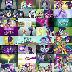 Size: 1080x1080   Tagged: safe, artist:jericollage70, edit, edited screencap, screencap, applejack, dean cadance, fluttershy, indigo zap, lemon zest, pinkie pie, princess cadance, princess celestia, princess luna, principal abacus cinch, principal celestia, rainbow dash, rarity, sci-twi, sour sweet, spike, spike the regular dog, sugarcoat, sunny flare, sunset shimmer, twilight sparkle, vice principal luna, dog, acadeca, equestria girls, friendship games, brooch, chs rally song, cutie mark accessory, cutie mark brooch, humane five, humane seven, humane six, jewelry, magic capture device, midnight sparkle, ponied up, right there in front of me, shadow five, twolight, unleash the magic