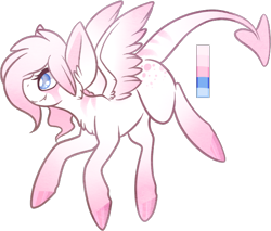 Size: 626x533   Tagged: safe, artist:velnyx, oc, oc:viola flutter, pegasus, pony, augmented tail, female, mare, simple background, solo, transparent background