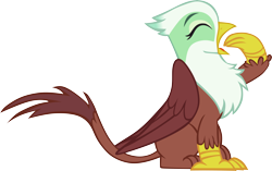 Size: 9238x5799   Tagged: safe, artist:memnoch, griffon, simple background, solo, transparent background, vector