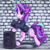 Size: 4200x4200 | Tagged: safe, artist:lakunae, starlight glimmer, pony, unicorn, absurd resolution, alternate hairstyle, clothes, edgelight glimmer, female, gameloft interpretation, jacket, looking at you, mare, piercing, punk, solo