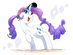 Size: 1600x1200 | Tagged: safe, artist:nendo, rarity, pony, unicorn, cap, cute, female, hat, mare, open mouth, raribetes, simple background, solo, white background
