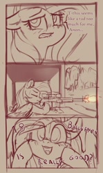Size: 774x1302 | Tagged: safe, artist:yoditax, fluttershy, gun, implied anon, shooting range, weapon