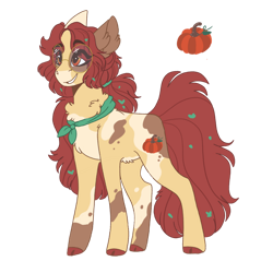Size: 1280x1280 | Tagged: safe, artist:scarletskitty12, oc, oc:scarlet autumn, earth pony, pony, ascot, female, filly, glasses, offspring, parent:apple bloom, parent:pipsqueak, parents:pipbloom, simple background, solo, transparent background