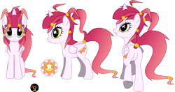 Size: 6166x3250 | Tagged: safe, artist:kyoshyu, oc, oc:spring forth, alicorn, pony, absurd resolution, butt, female, mare, plot, simple background, solo, transparent background