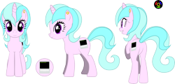 Size: 5920x2830 | Tagged: safe, artist:kyoshyu, oc, oc:bit tilt, pony, unicorn, butt, female, high res, mare, plot, simple background, solo, transparent background