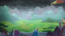 Size: 1280x720 | Tagged: safe, screencap, the ending of the end, background, canterlot, canterlot castle, scenic ponyville