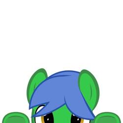 Size: 2000x2000 | Tagged: safe, artist:pankopie, oc, oc only, oc:staticspark, earth pony, blue mane, male, solo, stallion
