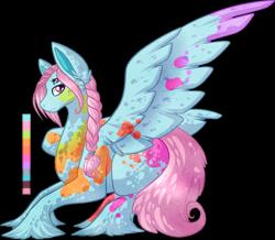 Size: 878x767   Tagged: safe, artist:velnyx, oc, oc:bubblegum blitz, pegasus, pony, female, mare, multiple eyes, simple background, solo, transparent background