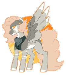 Size: 3277x3756 | Tagged: safe, artist:crazysketch101, oc, pegasus, pony, fancy