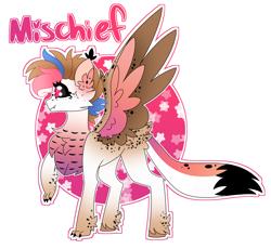 Size: 4194x3860 | Tagged: safe, artist:crazysketch101, oc, oc:mischief, catponyowl