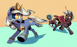 Size: 3400x2095 | Tagged: safe, artist:kaleido-art, oc, oc only, pony, unicorn, comic:the lost sun