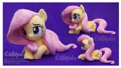 Size: 4573x2569 | Tagged: safe, artist:chibi-pets, fluttershy, pony, irl, photo, plushie, solo