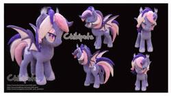 Size: 4573x2569 | Tagged: safe, artist:chibi-pets, oc, oc:midnight mist, bat pony, female, irl, mare, photo, plushie, solo