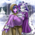 Size: 1200x1204 | Tagged: safe, artist:racoonsan, color edit, edit, editor:drakeyc, clover the clever, princess platinum, rarity, twilight sparkle, human, equestria girls, hearth's warming eve (episode), alternate hairstyle, blushing, bowtie, breasts, bridal carry, cape, carrying, clothes, coat, crown, dress, ear piercing, equestria girls edit, eyeshadow, female, flower, hand, high heels, holding hands, hood, humanized, jewelry, lesbian, makeup, nail polish, piercing, rarilight, regalia, robe, rope, scene interpretation, shipping, shirt, shoes, skin color edit, snow, suit, tree