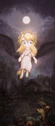 Size: 845x1920   Tagged: safe, artist:plotcore, oc, oc:aryanne, pony, angel