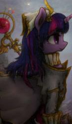 Size: 2320x4000 | Tagged: safe, artist:plotcore, twilight sparkle, alicorn, pony, clothes, solo, twilight sparkle (alicorn)