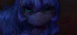 Size: 4324x2000 | Tagged: safe, artist:plotcore, princess luna, alicorn, pony, bust, female, mare, portrait, solo