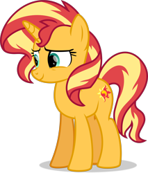 Size: 6526x7652 | Tagged: safe, artist:thatusualguy06, sunset shimmer, pony, unicorn, equestria girls, equestria girls series, forgotten friendship, .svg available, absurd resolution, cute, female, mare, shimmerbetes, show accurate, simple background, solo, transparent background, vector