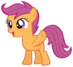 Size: 2551x2350 | Tagged: safe, artist:tardifice, scootaloo, simple background, solo, transparent background, vector