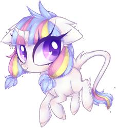 Size: 520x575 | Tagged: safe, artist:misspinka, oc, oc only, oc:lorelei, pony, unicorn, chibi, female, mare, simple background, solo, transparent background