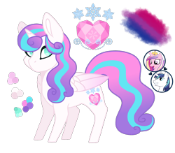 Size: 1200x1053 | Tagged: safe, artist:magicuniclaws, princess cadance, princess flurry heart, shining armor, pony, offspring, older, parent:princess cadance, parent:shining armor, parents:shiningcadance, pride, simple background, transparent background