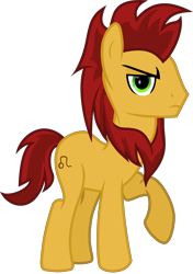 Size: 7948x11322   Tagged: safe, artist:lincolnbrewsterfan, derpibooru exclusive, oc, oc:leo, oc:zodiac leo, earth pony, fallout equestria, fallout equestria: project horizons, .svg available, fanfic art, leo, lidded eyes, male, raised hoof, serious, serious face, simple background, stallion, svg, transparent background, unamused, vector, zodiac, zodiac clan