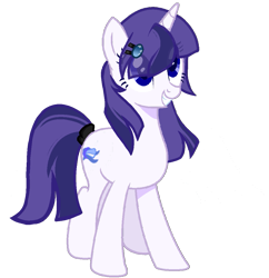 Size: 1055x1092   Tagged: artist needed, safe, oc, oc only, oc:starfall moonlight, unicorn, 2021 community collab, derpibooru community collaboration, female, mare, simple background, smiling, solo, transparent background