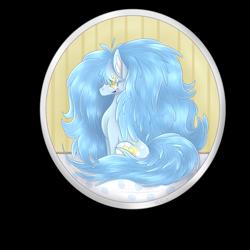 Size: 2000x2000 | Tagged: safe, artist:ioreocookie, oc, oc:dozy down, earth pony, pony, female, mare, solo