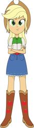 Size: 1834x6835 | Tagged: safe, applejack, equestria girls