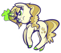 Size: 1280x1118 | Tagged: safe, artist:flowbish, sweet biscuit, pony, frown, magic, magic aura, simple background, transparent background