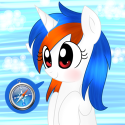 Size: 1000x1000 | Tagged: safe, artist:mayleebell24, oc, oc:safari, earth pony, pony, ask-safaripony, browser ponies, female, mare, solo