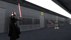 Size: 1366x768 | Tagged: safe, king sombra, pony, crossover, darth vader, disney, my little pony, star wars