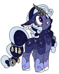 Size: 1725x2160 | Tagged: safe, artist:brainiac, derpibooru exclusive, oc, oc only, female, foo dog pony, gift art, mare, shisa, solo, tusk