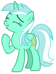 Size: 2136x2807 | Tagged: safe, artist:tardifice, lyra heartstrings, pony, unicorn, female, high res, mare, simple background, solo, transparent background, vector