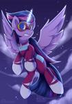 Size: 1750x2500 | Tagged: safe, artist:shadowreindeer, masked matter-horn, twilight sparkle, alicorn, pony, power ponies (episode), clothes, power ponies, twilight sparkle (alicorn)