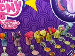 Size: 1600x1200 | Tagged: safe, apple bloom, applejack, bon bon, lyra heartstrings, pinkie pie, rainbow dash, sweetie drops, twilight sparkle, alternate cutie mark, cutie mark, hilarious in hindsight, merchandise, official, squishy pops