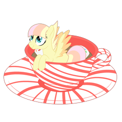 Size: 1700x1700 | Tagged: safe, artist:katelynleeann42, oc, oc:bubbles, pegasus, pony, cup, cup of pony, female, mare, micro, simple background, solo, teacup, transparent background