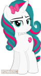 Size: 1736x3216   Tagged: safe, artist:indonesiarailroadpht, artist:ponyrailartist, oc, oc only, oc:pinkie rose, pony, unicorn, looking at you, show accurate, simple background, solo, transparent background
