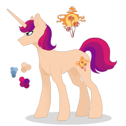 Size: 2200x2200 | Tagged: safe, artist:magicuniclaws, oc, unicorn, magical lesbian spawn, male, offspring, parent:princess cadance, parent:sunset shimmer, simple background, solo, stallion, transparent background