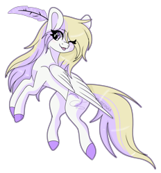 Size: 6268x6753 | Tagged: safe, artist:kireiinaa, oc, oc:naomii, pegasus, pony, absurd resolution, feather, female, mare, simple background, solo, transparent background