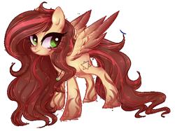 Size: 522x391 | Tagged: safe, artist:misspinka, oc, oc:sweet posion, pegasus, pony, female, mare, simple background, solo, transparent background
