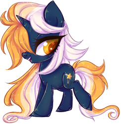 Size: 650x665 | Tagged: safe, artist:misspinka, oc, oc:star rise, pony, unicorn, chibi, female, mare, simple background, solo, transparent background