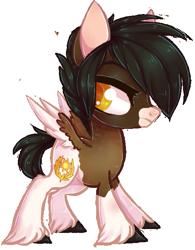 Size: 503x644 | Tagged: safe, artist:misspinka, oc, oc:apollo, pegasus, pony, chibi, male, simple background, solo, stallion, transparent background