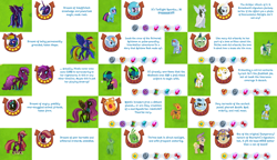 Size: 2170x1250 | Tagged: safe, idw, applejack, can o'beans, fluttershy, pinkie pie, rainbow dash, scootaloo, staryeye the watchful, twilight sparkle, alicorn, cyber pony, cyborg, earth pony, pegasus, pony, unicorn, spoiler:comic, captain dash, clothes, female, gameloft, gem, ice witch, male, mare, nightmare applejack, nightmare fluttershy, nightmare pinkie, nightmare rainbow dash, nightmare twilight, nightmarified, plant creature pony, space sparkle, stallion, twilight sparkle (alicorn), uniform, washouts uniform