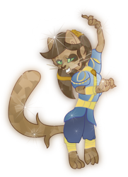 Size: 5008x6920   Tagged: safe, artist:lincolnbrewsterfan, derpibooru exclusive, cerena, abyssinian, cat, anthro, digitigrade anthro, idw, spoiler:comicidw2020, absurd resolution, alternate hairstyle, clothes, coat, crystal abyssinian, crystalline, crystallized, female, glowing, gradient clothes, gradient ears, gradient eyes, gradient hair, hairband, happy, idw showified, looking at you, show accurate, simple background, smiling at you, solo, sparkles, transparent background, vector
