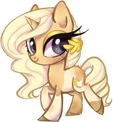 Size: 584x632 | Tagged: safe, artist:misspinka, oc, oc:laurel, pony, unicorn, female, mare, simple background, solo, transparent background