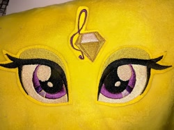 Size: 1080x810   Tagged: safe, artist:rxndxm.artist, adagio dazzle, eye, eyelashes, eyes, female, irl, photo, plushie