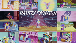 Size: 1992x1121 | Tagged: safe, edit, edited screencap, editor:quoterific, screencap, applejack, bruce mane, eclair créme, fine line, jangles, masquerade, maud pie, maxie, orion, perfect pace, photo finish, pish posh, rainbow dash, rarity, shooting star (character), silver frames, star gazer, stella lashes, vidala swoon, mermaid, a canterlot wedding, boast busters, fame and misfortune, green isn't your color, it isn't the mane thing about you, ppov, scare master, sonic rainboom (episode), suited for success, sweet and elite, the gift of the maud pie, the return of harmony, alternate hairstyle, beatnik rarity, beret, butterfly wings, captain rarity, chocolate, chocolate rain, clothes, collage, detective rarity, food, glimmer wings, gossamer wings, hat, ice skating, mermarity, punk, rain, rainbow dash always dresses in style, raripunk, stella, sweater, umbrella, wings